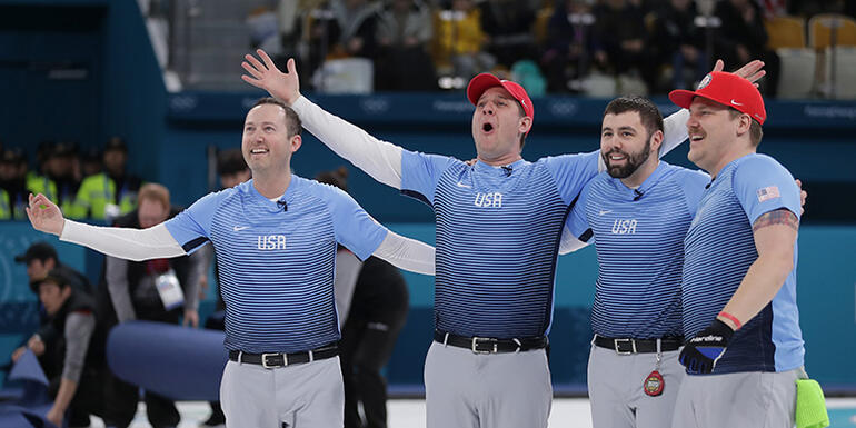 American Men Win Olympic Curling Gold Medal