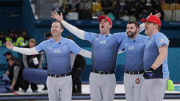 2018 Winter Olympics - American Men Win Olympic Curling Gold Medal