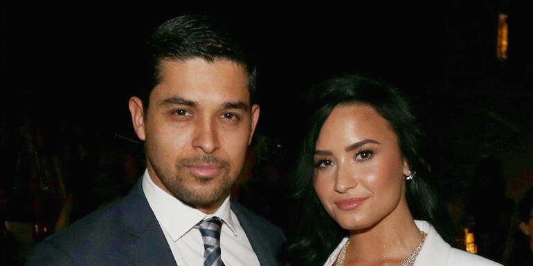 Demi Lovato Spotted Out With Former Boyfriend Wilmer Valderrama