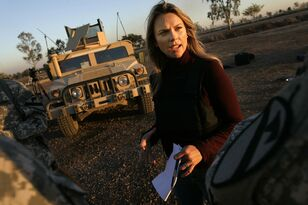 "LARA LOGAN ""Politics is What Kills You""."