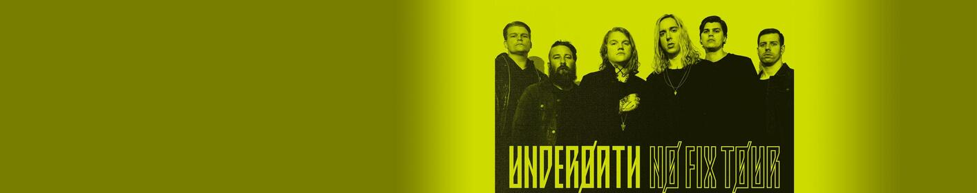 The Edge presents UnderØath on May 25th! Get ticket info here!