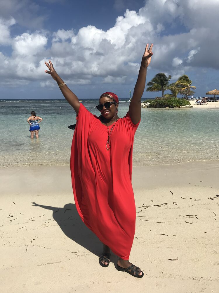 I am giving away a trip to Jamaica every day at 12:45pm this week plus $1,000 spending cash!