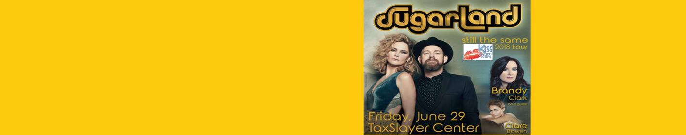 Kiss Country Welcomes Sugarland Still The Same Tour June 29th