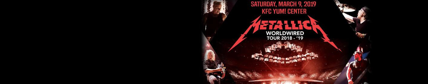Metallica at the KFC Yum! Center!