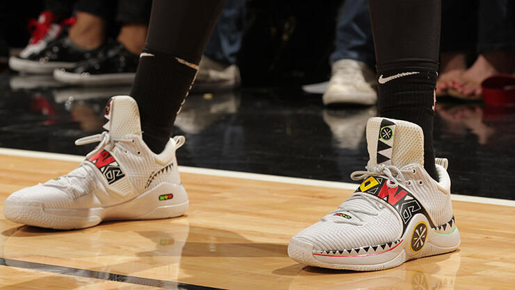 52ef73abeda On Tuesday night Miami Heat point guard Dwyane Wade wore a pair of shoes  dedicated to Joaquin Oliver