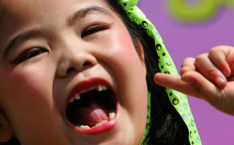 Child Missing Teeth