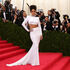 "Rihanna at the ""Charles James: Beyond Fashion"" Met Gala in 2014."