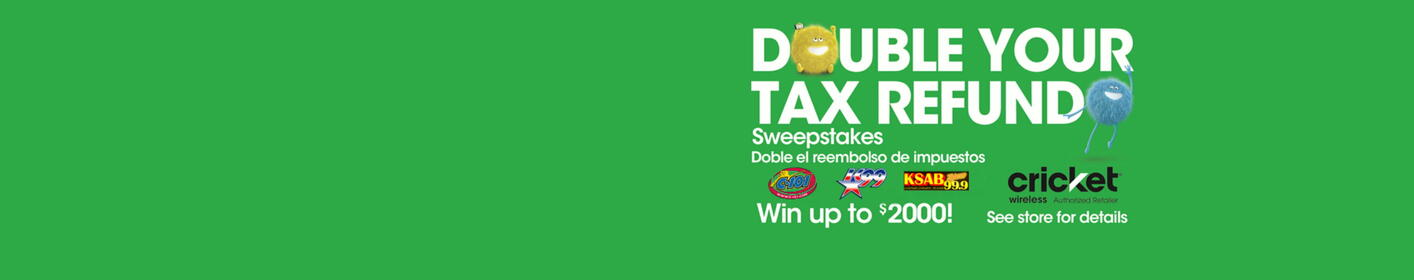 Register for a chance to Double Your Tax Refund from Cricket