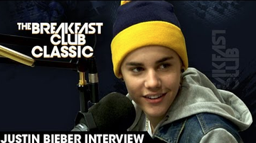 The Breakfast Club Interviews - Throwback: Justin Bieber Raps Tupac and More