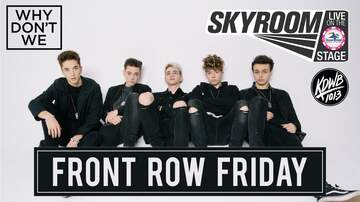Contest Rules - Why Don't We Front Row Friday