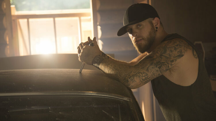 BRANTLEY GILBERT: Giving Companion Dogs to Vets