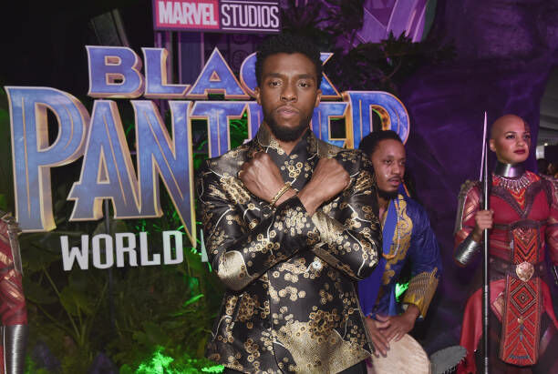 Chadwick Boseman - Getty Images