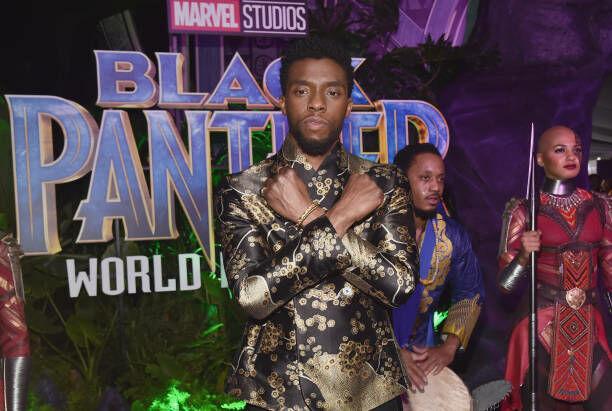 Chadwick Boseman - Getty Images