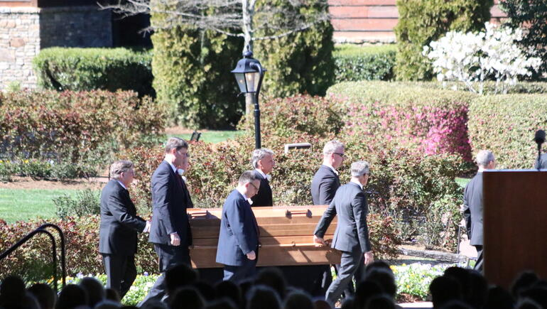 Family and Friends Honor Rev. Billy Graham