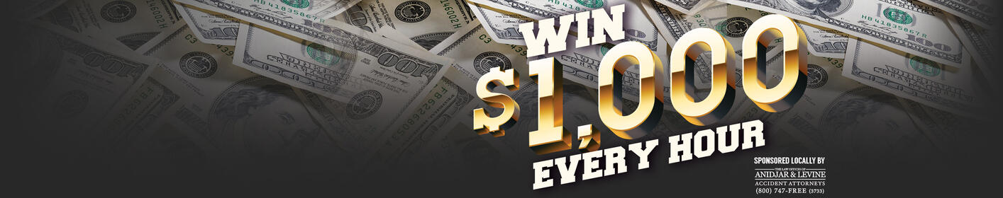 The $16k Work Day is Here! Listen Live Weekdays 6a-9p!