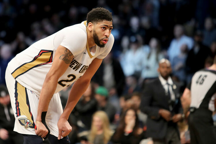 Anthony Davis New Orleans Pelicans Getty
