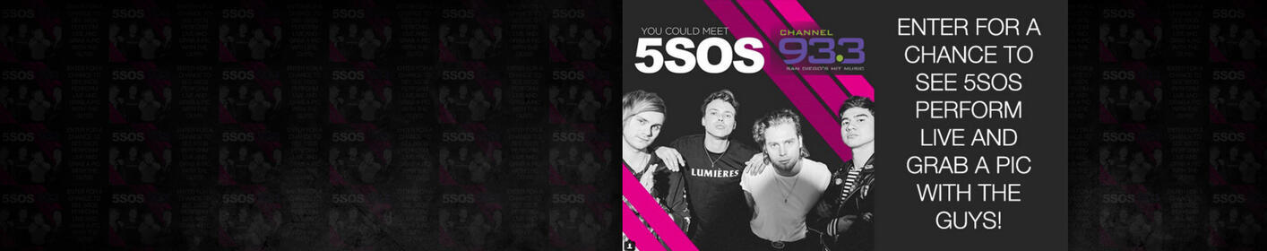 Meet 5 Seconds of Summer at Channel 933