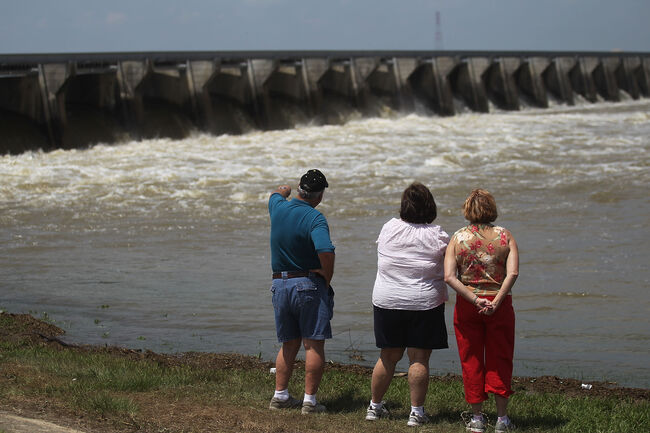 Bonnet Carre' Spillway Getty Images