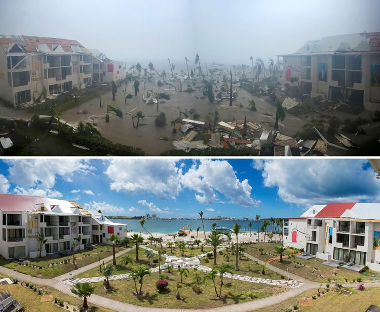 Then And Now: 6 Months After The Hurricanes