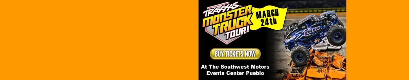 Traxxas Monster Truck Tour At The Southwest Motors Events Center March 24th!
