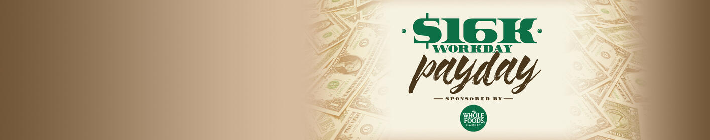 Listen weekdays to win $1,000 every hour!