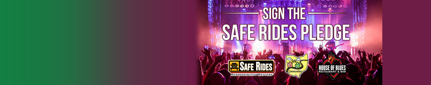 Sign the safe rides pledge to win a House of Blues prize pack!