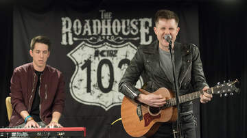 The K102 Roadhouse - PHOTOS: Trent Harmon in the K102 Roadhouse
