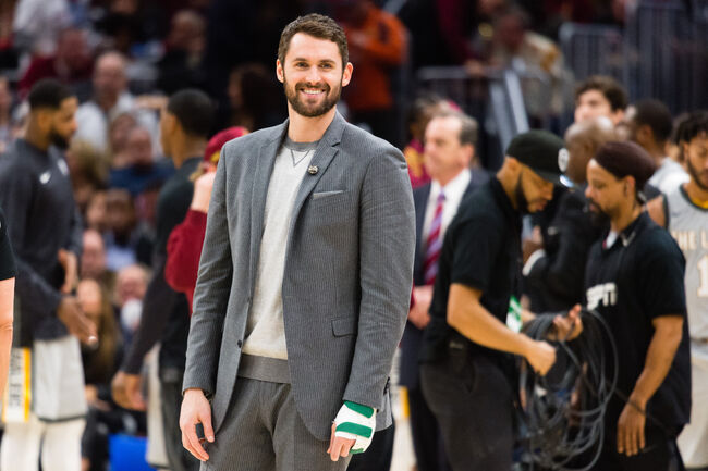 Kevin Love will return from a broken hand soon, hopefully healthy both mentally and physically
