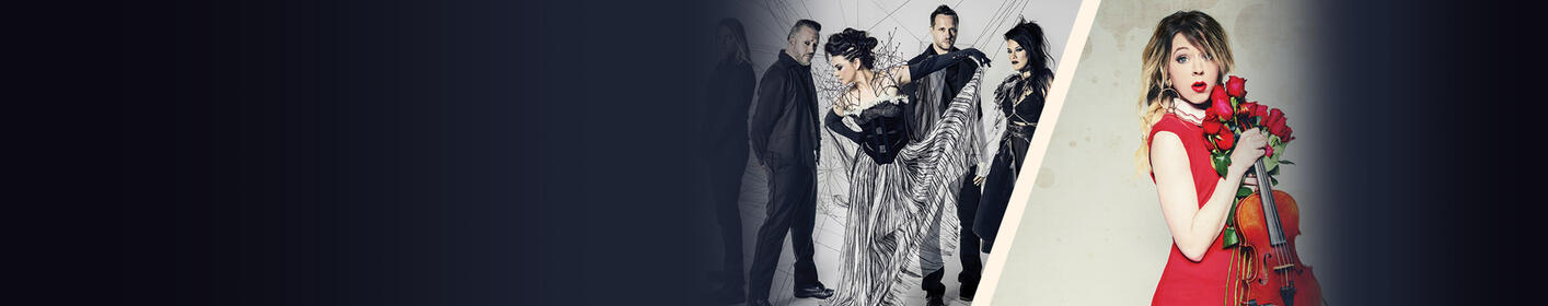 Evanescence + Lindsey Stirling July 7 at Hollywood Casino Amphitheatre.