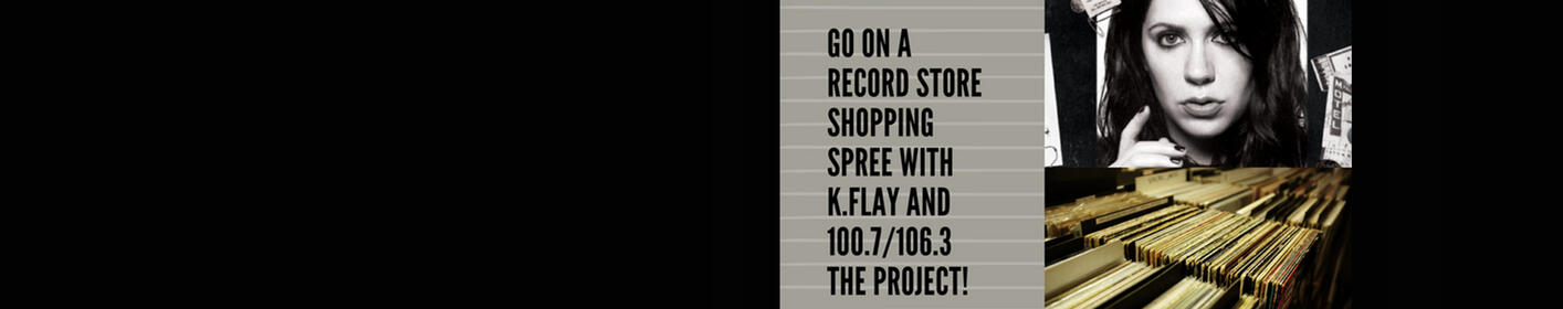 Win a record store shopping spree with K.Flay!