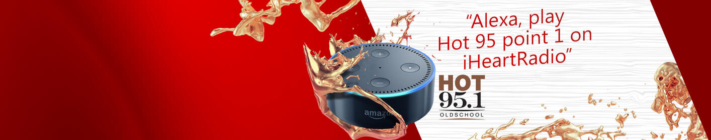 Find Hot 95.1 on Amazon Echo!