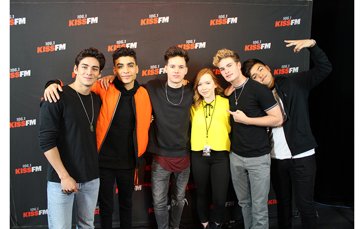 In real life lounge meet greet 372018 1061 kiss fm in real life lounge dallas 372018 photo credit emily weber m4hsunfo