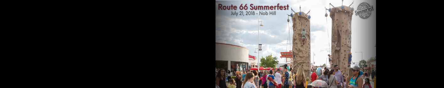 Route 66 Summer Fest * Nob Hill * July 21st