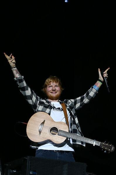 Ed Sheeran Rocking!