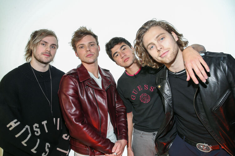 Hd55 Luke Hemmings 5 Seconds Of Summer Music: 5SOS' Luke And Calum Tease What To Expect With Forthcoming