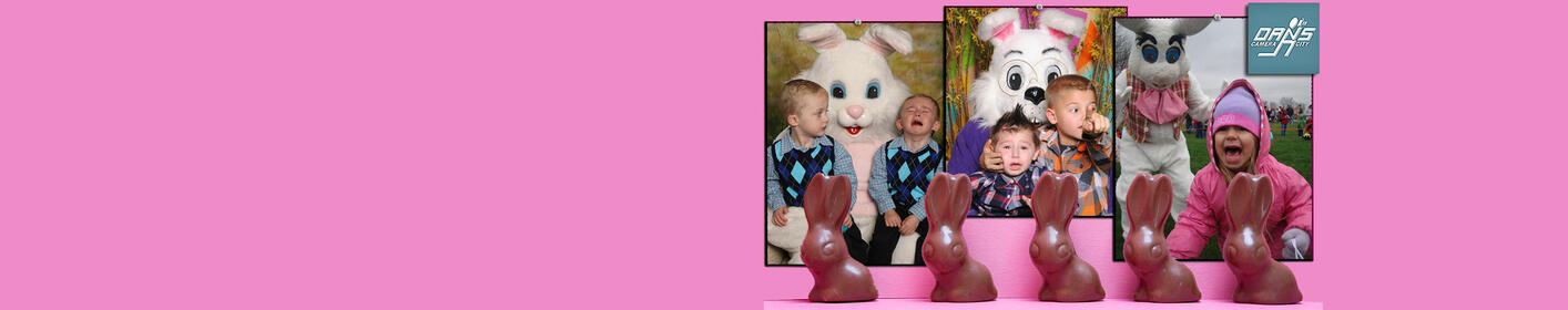 Scared of the Easter Bunny Photo Contest – Share Your Photo!