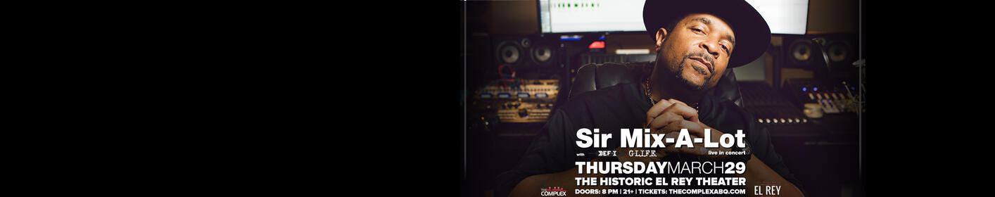 Hot 95.1 Welcomes Sir Mix-A-Lot To The El Rey Theater!