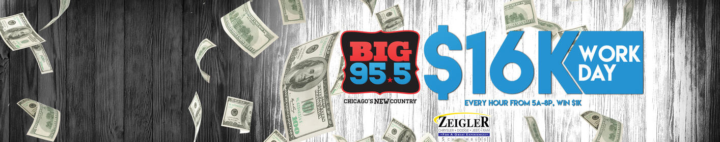 Listen Weekdays 5am-8pm for YOUR Chance at $1000!