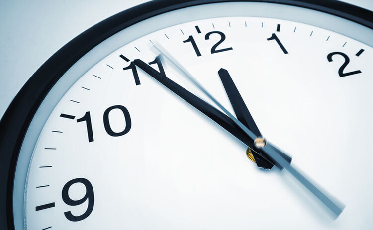 clock - getty images