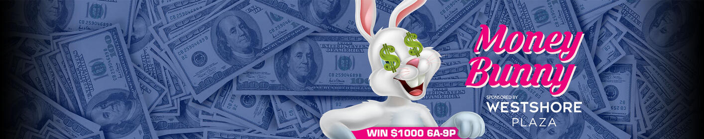 Listen all week for your chance to win $1,000 16x a day!