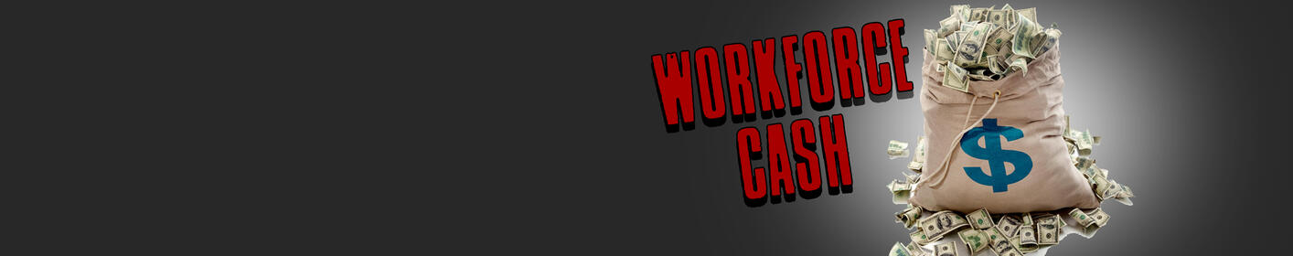 Workforce Cash Is Back! Listen to Win $1,000 Every Hour