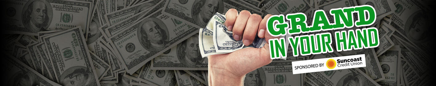 Listen at :06 after the hour from 6a-9p weekdays to win $1,000