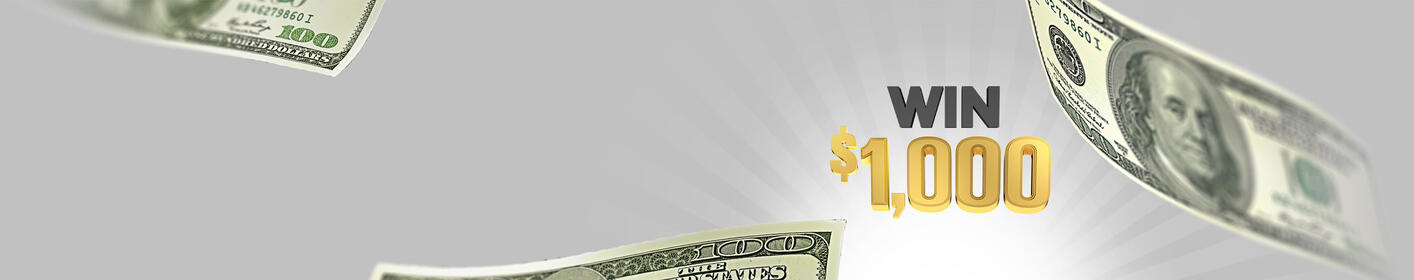 Listen to Win $1,000 Every Hour Weekdays 6am to 10pm!
