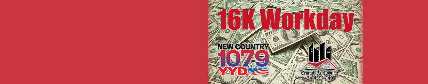 Listen To The 16K Workday For Your Chance To Win $1,000!