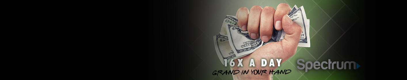 We Want To Put A Grand In Your Hand 16x A Day!