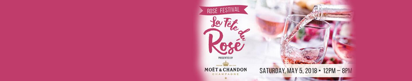 Register for your chance to win a pair of tickets to La Fête du Rosé!