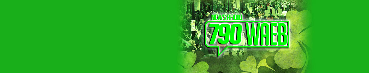 790 WAEB will be parading our GREEN! Allentown's St. Patrick's Day Parade on March 18th!