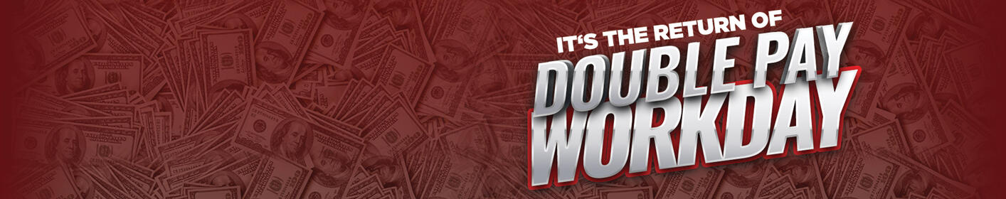 Win $1,000 With the Double Pay Workday From Q1043