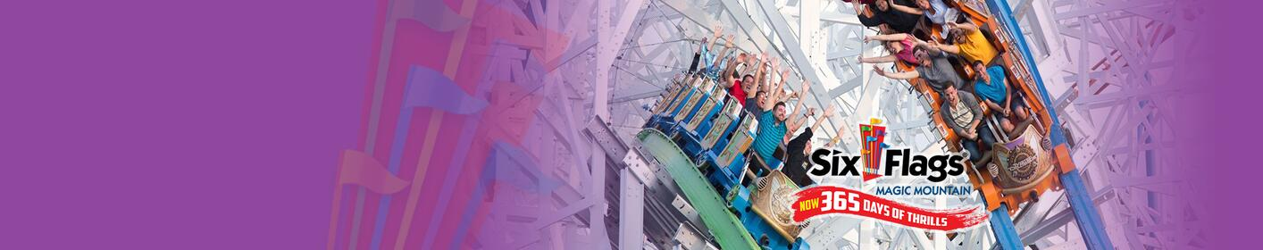 WIN TICKETS: Six Flags Magic Mountain