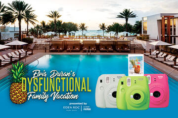 Enter for your Chance to Win a trip to the EDMS Dysfunctional Family Vacation